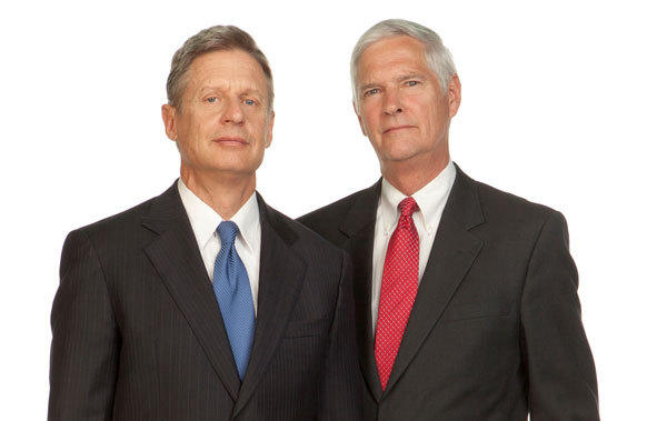 Libertarian presidential candidate Gary Johnson (left) and running mate Jim Gray may get kicked off Pennsylvania ballots if a challenge to nominating petitions is upheld.