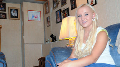 Meyersdale student Randee' Engle, 16, is a talented vocalist with a love for animals.