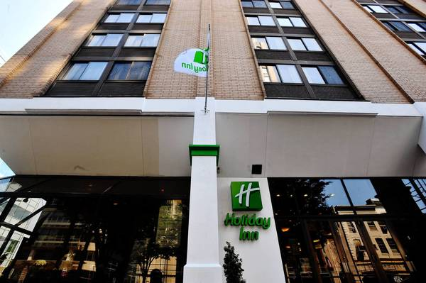 Holiday Inn Center City located at 904 West Hamilton St. in Allentown on Friday.