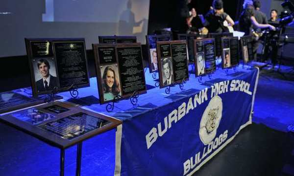 A total of 14 Bulldogs were inducted into the Burbank High Athletics Hall of Fame Saturday.