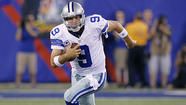 Oct. 14: Tony Romo, Dallas Cowboys