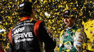 Jeff Gordon earns final spot in NASCAR's Chase as Kyle Busch and team falter late at Richmond