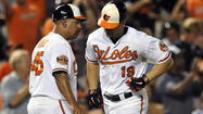 After Nick Markakis' injury, Orioles' lineup gets shuffled