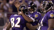 <strong>Sept. 10, 2000:</strong> Down by 17 points, the Ravens storm back to defeat visiting Jacksonville, 39-36 — their first victory over the Jaguars in the team's five-year history. Tony Banks' 29-yard touchdown pass to Shannon Sharpe in the final minute gives Baltimore its second straight victory.