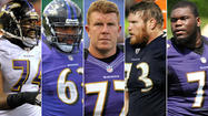 Ravens need offensive line to stay together this season