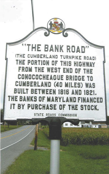 Eldon Hawbaker submitted this photo of a historical marker that was replaced along U.S. 40.