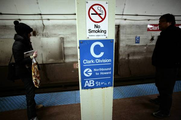 The Red Line CTA station at Clark and Division is 70 years old. Its rehab begins Monday, Sept. 10.
