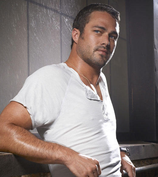 "In case we haven't already made our Taylor Kinney love <b><a href=""http://blog.zap2it.com/pop2it/2011/12/meet-taylor-kinney-lady-gagas-boyfriend-loves-surfing-art-and-ian-somerhalder.html"">abundantly clear</a></b>, allow us to shower him with praise once again. While we loved Kinney as H.U.M. (Hot Uncle Mason) on ""The Vampire Diaries,"" he's really hit his stride on ""Chicago Fire."" Kinney stars as Kelly Severide, a rescue firefighter with a hair-trigger temper, a chip on his shoulder, and a seriously complicated relationship with Jesse Spencer's Matt Casey. By the end of the first episode, which airs <b>Wednesday, Oct. 10 at 10 p.m. ET </b> on NBC, it'll be very clear that Kelly is more than meets the eye. (Oh, and he spends a lot of time in the shower. We don't hate it.)<br><br> <i>-- <a href=""http://www.twitter.com/cadlymack"">Carina Adly MacKenzie</a>, <a href=""http://www.zap2it.com"">Zap2it</a></i>"