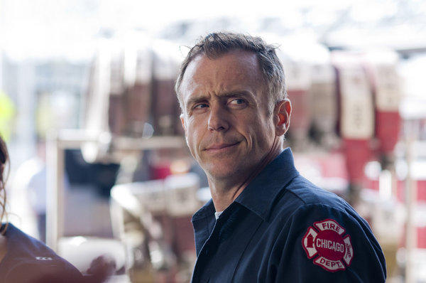 "Best known for his role as Steve Brady in ""Sex and the City,"" David Eigenberg stars as firefighter Christopher Herrmann in NBC's ""Chicago Fire,"" which premieres Oct. 10. Eigenberg's family moved from New York to Chicago when he was four years old, and they lived in the city Evanston, Northbrook and Aurora before settling in Naperville. He played football at Naperville Central High School, from which he graduated in 1982. In 1983, he was cast in Dennis Rosa's musical ""One Shining Moment"" at the Drury Lane Theatre at Water Tower Place. It starred Megan Mullally, Kevin Anderson and Allan Ruck and the experience led him to enroll in the American Academy of Dramatic Arts in New York."