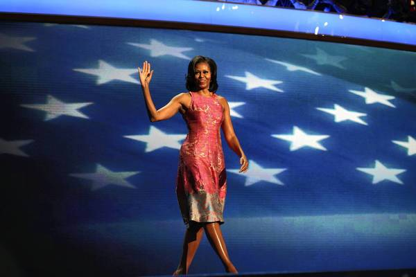 First lady Michelle Obama was one of the star speakers at Democratic National Convention in Charlotte, N.C., last week.