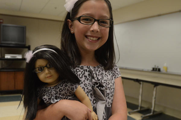 Auditions for this year's American Girl Fashion Show were held Sunday at the Bushnell Center for the Performing Arts in Hartford. Twenty-eight to 30 girls will be selected for the show, which will be Nov. 3 in the Rentschler Field Club Room East Hartford.