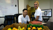 Dedication to healthy lifestyle drives fruit delivery concept
