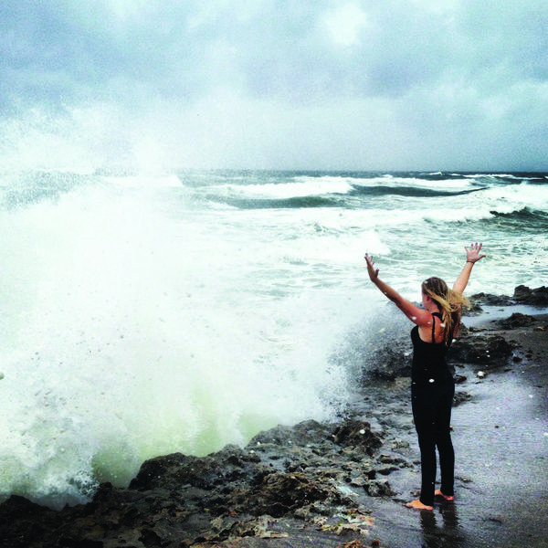 "As Tropical Storm Isaac came ashore in South Florida, Instagram users captured all sorts of images - from flooded streets to wind surfers. Kyle Vanderwerf, of Jupiter, took this photo of Catie Welch at the north end of Blowing Rocks Preserve in Hobe Sound, Fla.  Kyle said Catie was ""commanding the seas and welcoming Isaac to Florida.""  Little did we all know just how bad portions of Palm Beach and Broward counties would flood."