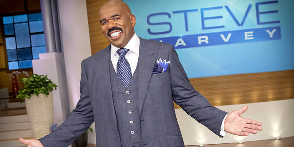 Steve Harvey launched his daytime talk show last week to solid ratings.