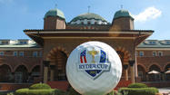 The first-ever Ryder Cup Captains & Celebrity Scramble golf event will have some serious star power. Bill Murray, Justin Timberlake, Michael Phelps, George Lopez, Ernie Banks, Richard Dent, Stan Mikita and Scottie Pippen are scheduled to play.