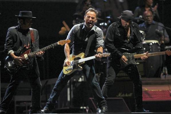 Bruce Springsteen & the E Street Band perform at Wrigley Field Sept. 7, 2012.