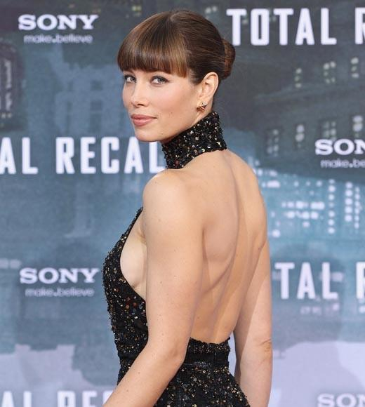 "The ""Total Recall"" actress is dangerous to sci-fi bad guys and your online life. She's rising up the list again after falling to number 4 in 2011. She was McAfee's most dangerous celeb of 2009."