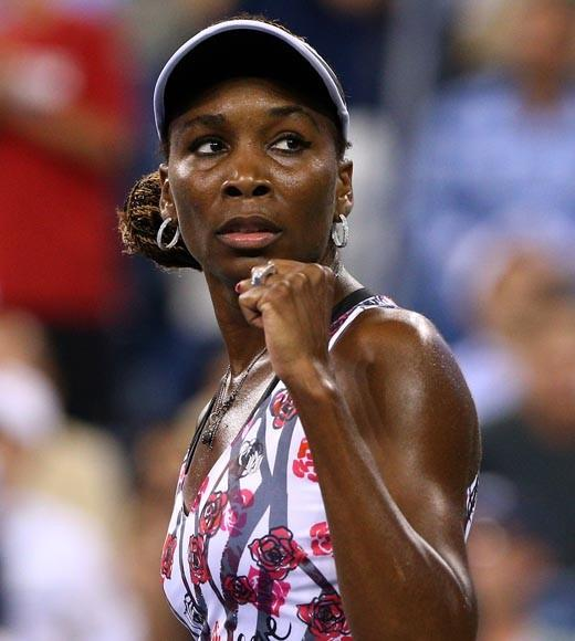 Her sister Serena won more medals this year, but Venus wins this spot on the dangerous celebs list.