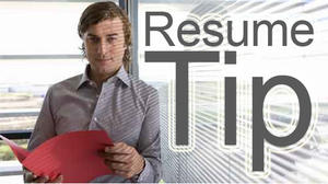 Down and across: Solving resume puzzle