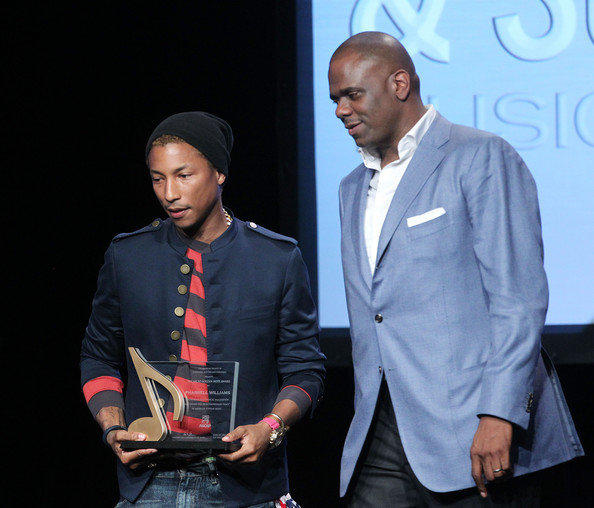 Jon Platt and Pharrell Williams