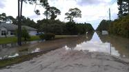 Palm Beach County's Mecca Farms property is helping provide flood-control relief in the wake of Tropical Storm Isaac.