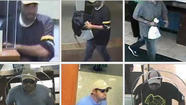 A man who robbed a Chase Bank branch in the Loop this afternoon, is suspected in four other downtown bank robberies in the last month, authorities said.