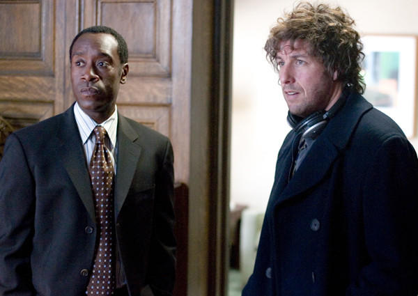 Adam Sandler and Don Cheadle played friends reunited five years after 9/11 in this film written and directed by Mike Binder. It grossed a mere $22 million worldwide, making it Sandler's lowest-grossing movie ever.