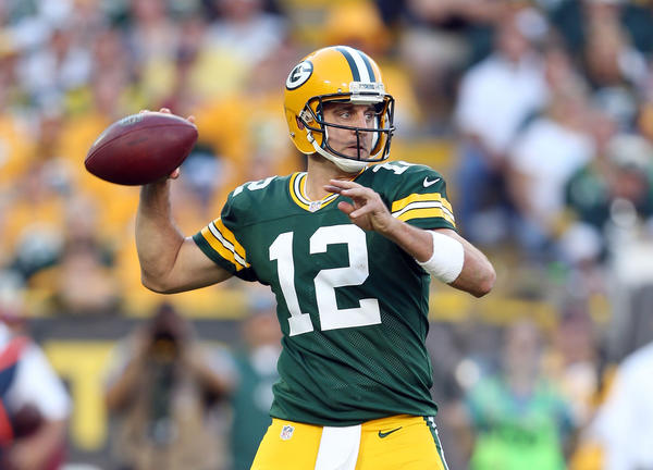 Aaron Rodgers now qualifies as an elder statesman in the Packers' locker room.