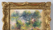 Baltimore-born woman finds 'lost' Renoir at flea market