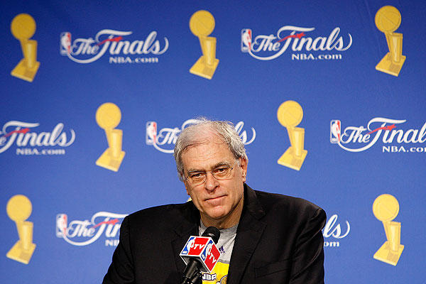 "Head coach <a class=""taxInlineTagLink"" id=""PEHST001003"" title=""Phil Jackson"" href=""/topic/sports/basketball/phil-jackson-PEHST001003.topic"">Phil Jackson</a> of the Los Angeles Lakers turns 66 today. (Photo by Chris Graythen/Getty Images)"