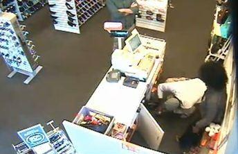 Armed robbery suspect hits shoe store in Hallandale Beach