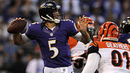 For the past six weeks, the Ravens had seen this from Joe Flacco on a daily basis.