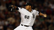 Jose Quintana does not tiptoe into a room. He opens the door and waltzes right in, sometimes to stick around, sometimes to be promptly escorted out.