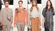 NEW YORK -- Billy Reid, recent recipient of the CFDA's Menswear Designer of the Year Award for 2012, sent his men's and women's spring-summer 2013 collections down the runway  here on Sept. 7 during New York Fashion Week.