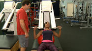 The key to grooming the top athletes and getting someone in shape--PHL 17's Ashley Johnson just found out at Legacy Youth Tennis And Education.  Not only did the center change its name from Arthur Ashe, but there's also a new fitness program known as Corexcell.  It's helping athletes improve their game by training the body's core.  Trainer Zack Fuller says it's all making sure the body is properly aligned so that the back isn't overarched and areas like shoulders remain flexible.  It's a great workout anybody can join.