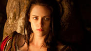 Because of star Kristen Stewart's off-screen ties to director Rupert Sanders, this dark reimagining of the fairy tale has gotten recent attention its makers likely would prefer not to have.