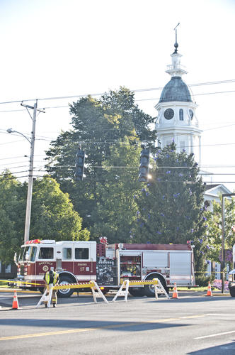 Photo Gallery: Bomb threat at Boyle County Courthouse