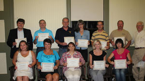 Residents graduate from SKED entrepreneurial training