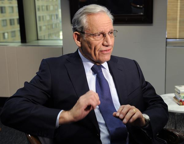 "Bob Woodward speaking during an exclusive interview on ABC's ""World News with Diane Sawyer"" about his  book, ""The Price of Politics."""