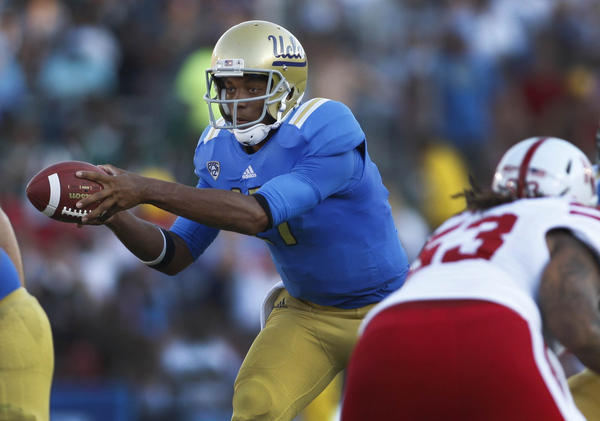 Brett Hundley during Saturday's victory over Nebraska.