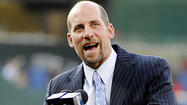 Former Cy Young Award winner John Smoltz, now a baseball analyst for TBS, had a chance to broadcast the Orioles-Yankees game Sunday.