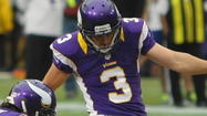 Blair Walsh, K, Vikings