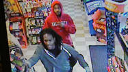 Police in Brownsburg need help identifying men who robbed a Subway shop and a gas station on the same day.