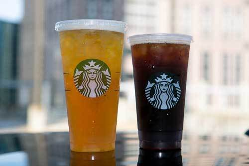 After more than a year, the Trenta size is alive and well, while 7-Eleven has downsized its titanic Double Gulp from 64 ounces to 50. So we tested two Trenta iced teas on the Cars.com motor pool. A Venti is shown here for comparison. The challenge would be vertical space: While the Venti measures 6.5 inches tall with a 3.8-inch top, the Trenta ascends 7.2 inches toward a 4.1-inch cover.