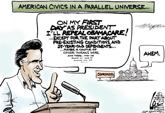 Romney and Obamacare
