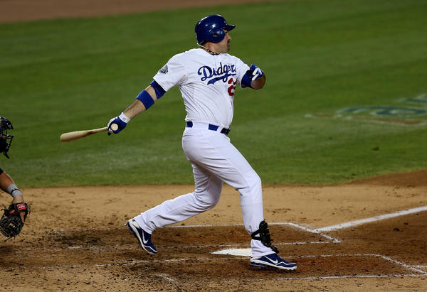 The Dodgers were averaging more runs per game before they acquired Adrian Gonzalez.