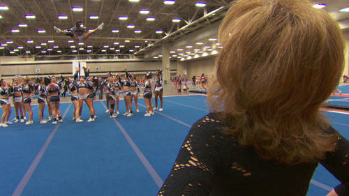 Kelly Ripa-backed reality doc follows the fortunes of a New Jersey cheerleading team. The show itself is not a competition, suggesting it might be more than usually real.