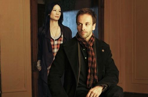 Sherlock Holmes gets his umpteenth makeover with Jonny Lee Miller in disheveled modern dress (and Manhattan) as the master of perception. Lucy Liu his Watson, Aidan Quinn the local Lestrade.