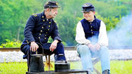 Everyone comes for Civil War battle re-enactments — the smoke, the noise, the advancing lines of men and horses.