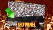 The Texans won their season opener, but not without a crash (in the stands).  A panel on one of those huge LED display boards fell and whacked two guys in the head.
